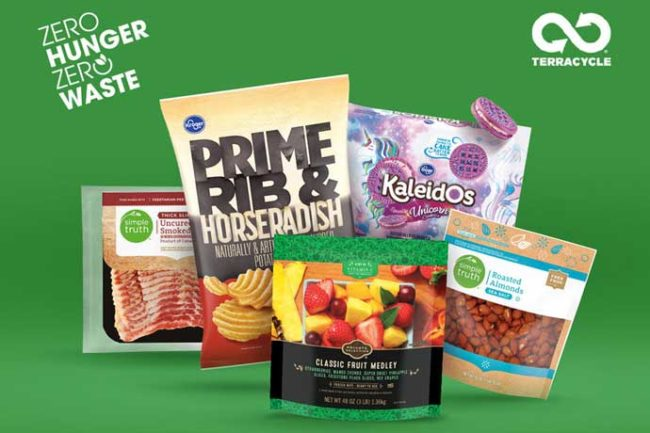 Kroger's recycling program will include packaging from private-label products.