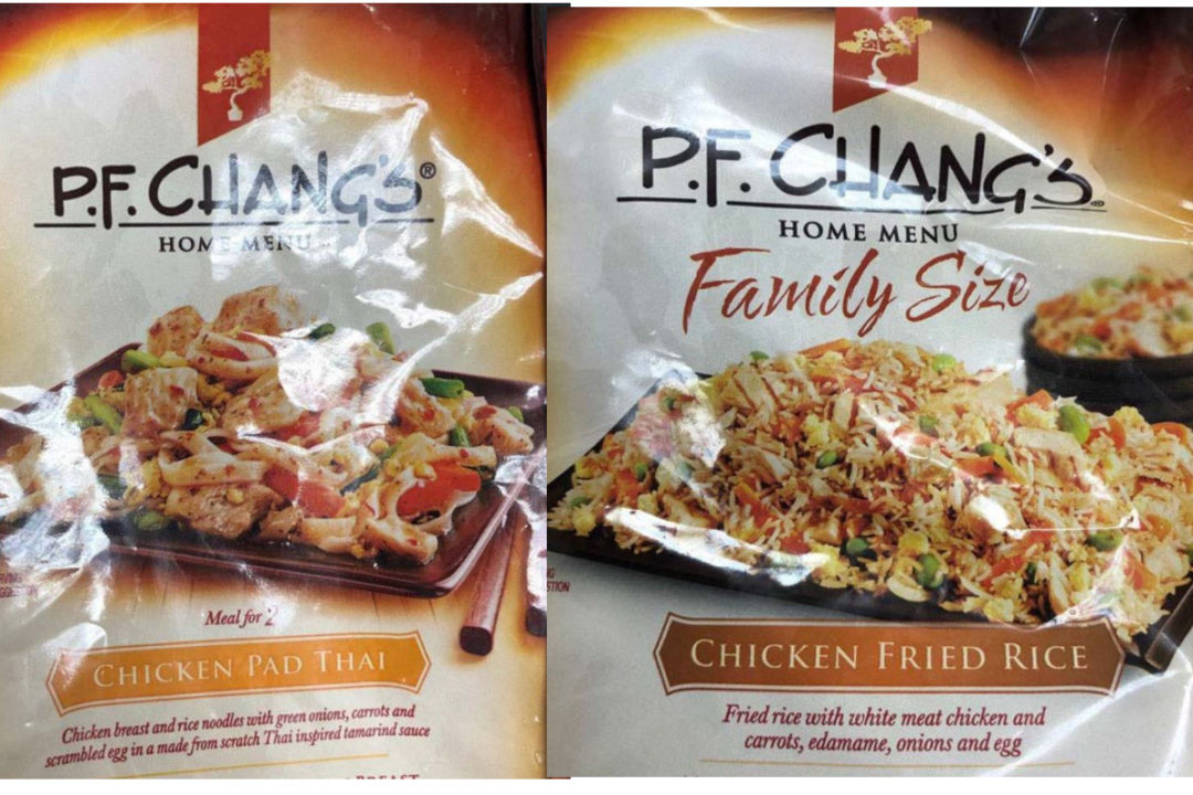 PF Changs recall