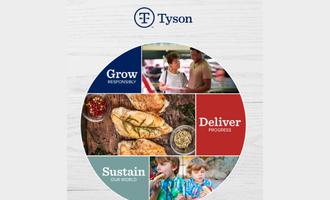 Tyson sustainability smaller