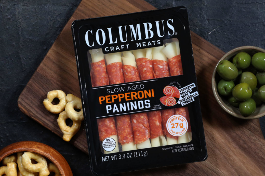 Package of Columbus Craft Meats paninos