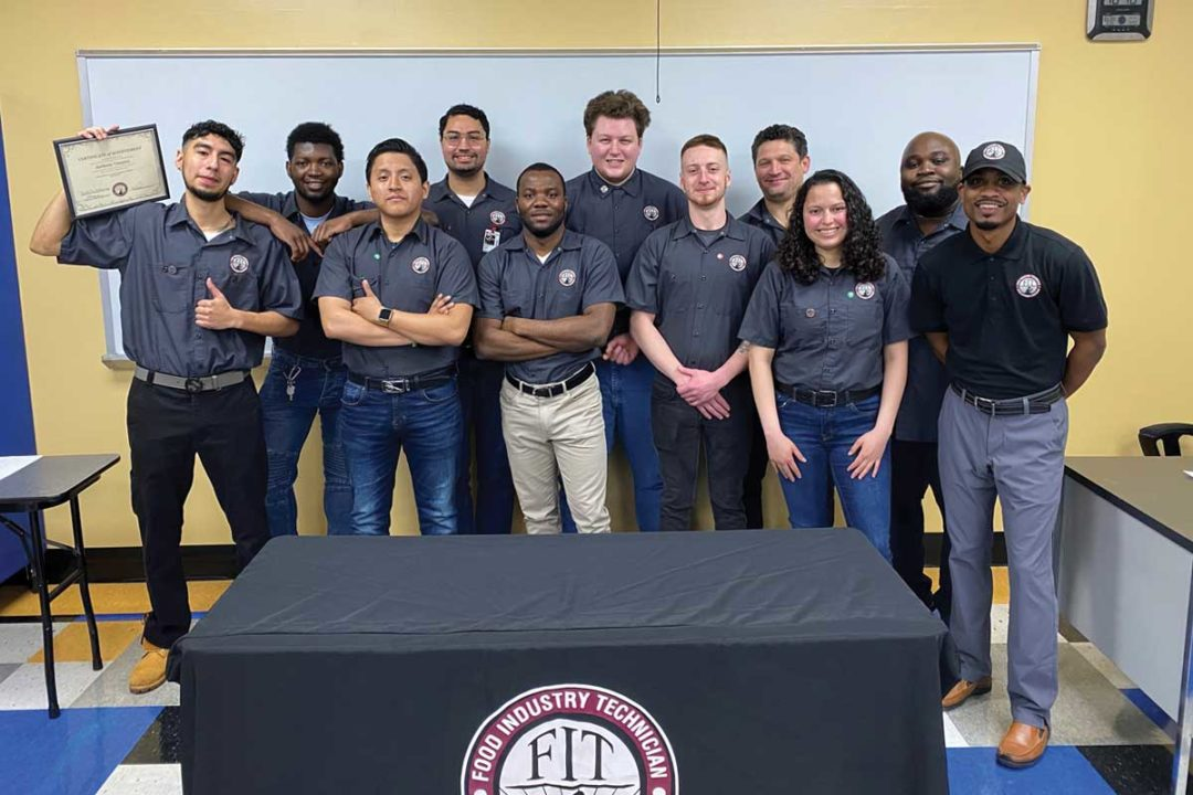 Food Industry Technical Program (FIT) graduating class of March 2021.