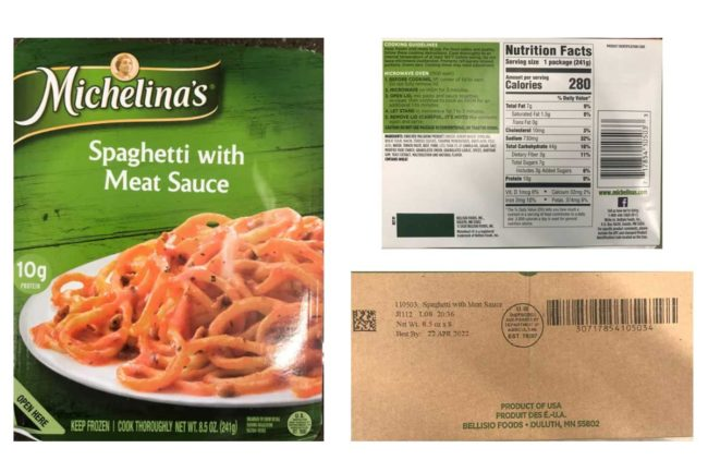 Bellisio Foods pasta products