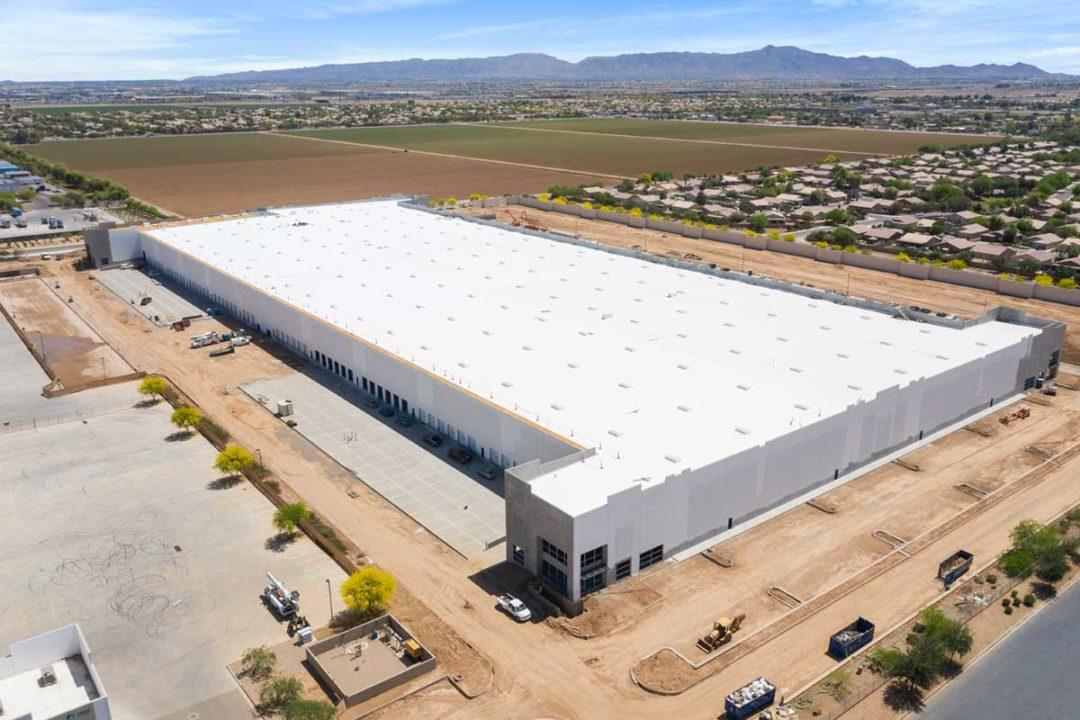 HelloFresh distribution center in Phoenix, Arizona.