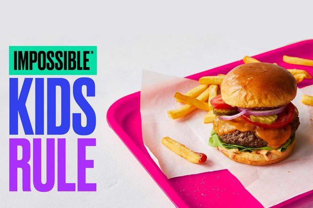 Impossible foods kids rule