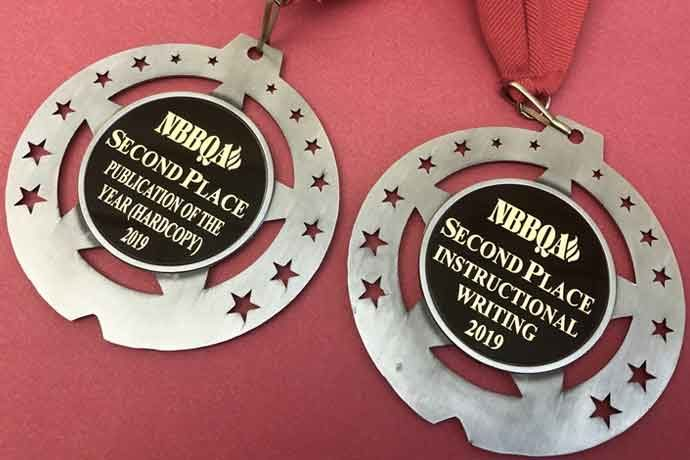 The MEAT+POULTRY editorial team was recognized by the National Barbecue & Grilling Association (NBBQA) this past March for its coverage of the barbecue industry.