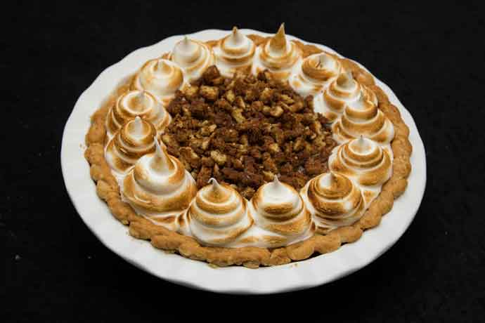 David Eaheart, Seaboard Foods, captured top honors for professionals with his Iceland's Café Loki-Inspired Rye Bread Cream Pie at the 25th APC National Pie Championships.