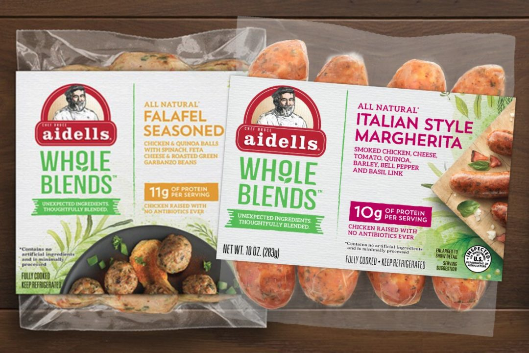 1 main story Aidells Whole Blends