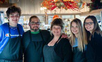 Small biz butcher shoppe family mark francis riewestahl
