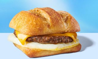 Impossible breakfast sandwich smallest