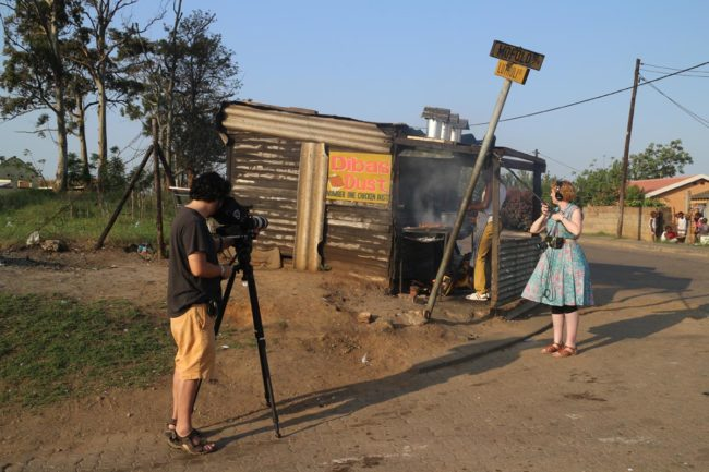 "Matthew Salleh and Rose Tucker traveled to 12 countries, including South Africa, in around 200 days to film their documentary ""Barbecue."""