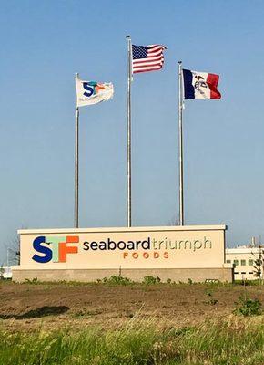 Seaboard triumph sign