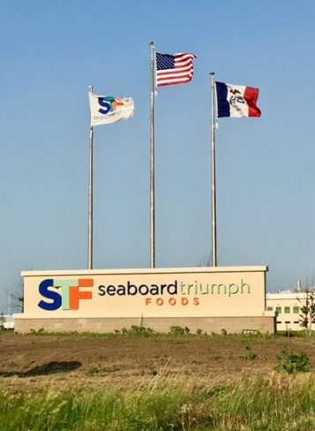 Seaboard Triumph Foods exterior sign