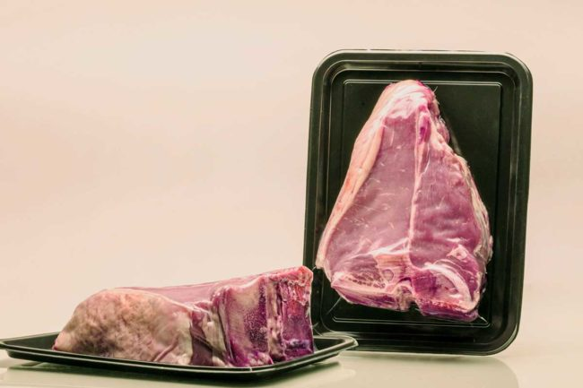 Skin packaging can be defined as any type of packaging that surrounds a food product's natural form.