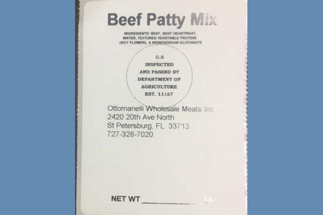 Beef Patty Mix
