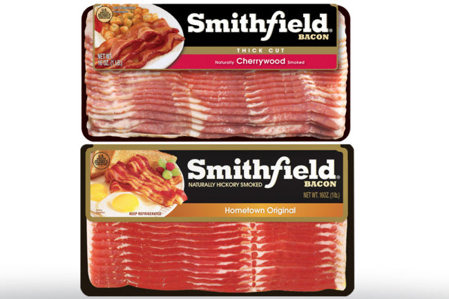 Smitfield Foods bacon