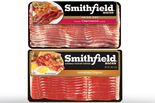 Smitfield Foods bacon