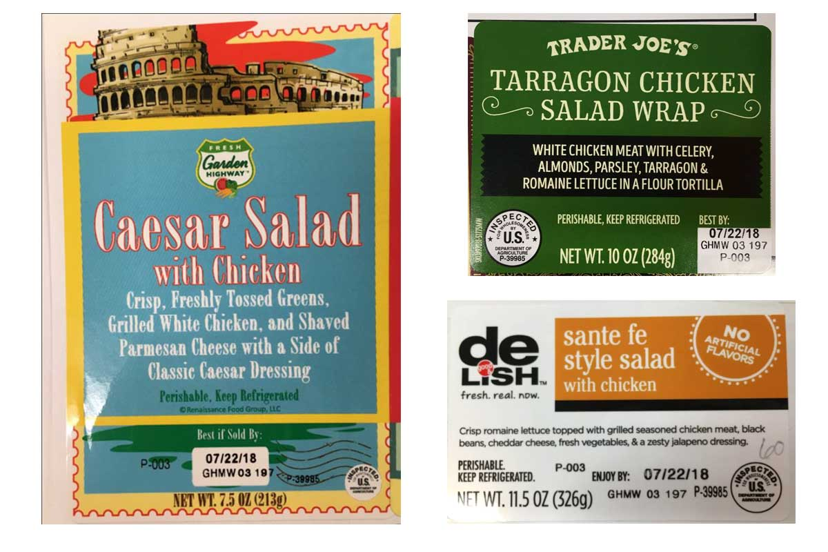 Produce recall impacts meat, poultry products | 2018-07-31