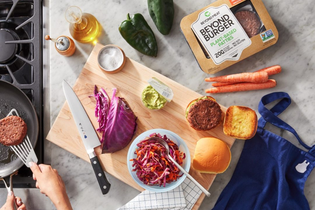 Beyond Meat Blue Apron