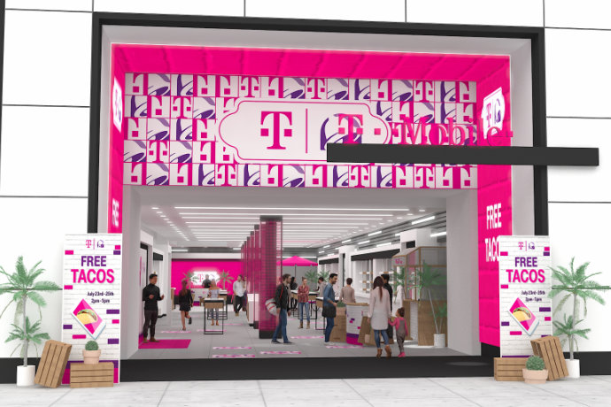 T Mobile Taco Bell Unite For New Store Concept 2019 07 18