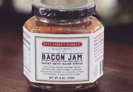 Chop Shop bacon jam is hand-crafted in small batches.