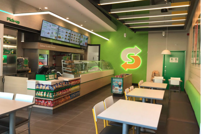 Subway is planning to remodel more than 10,500 restaurants across the United States by the end 2020.