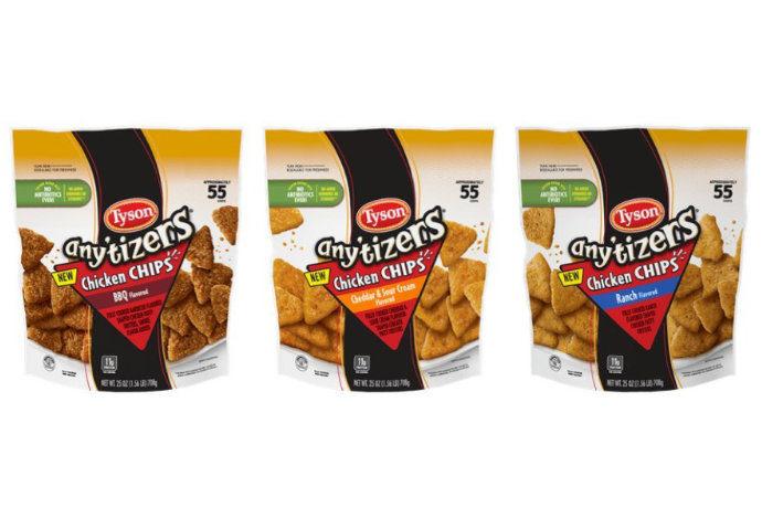 Chicken chips tyson