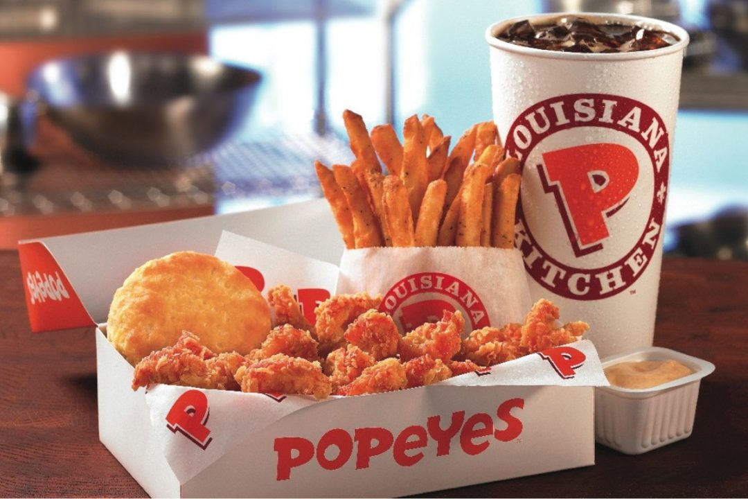 Popeyes small