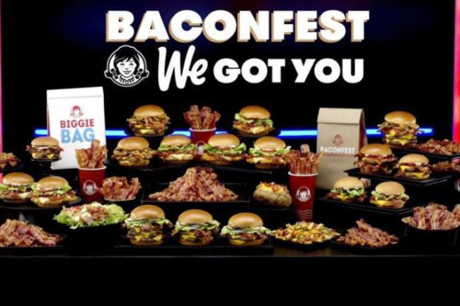 Wendys baconfest