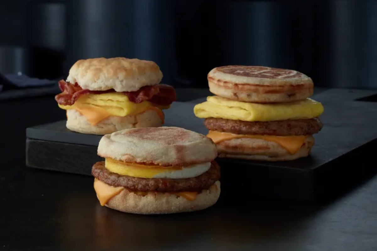 McDonalds breakfast small
