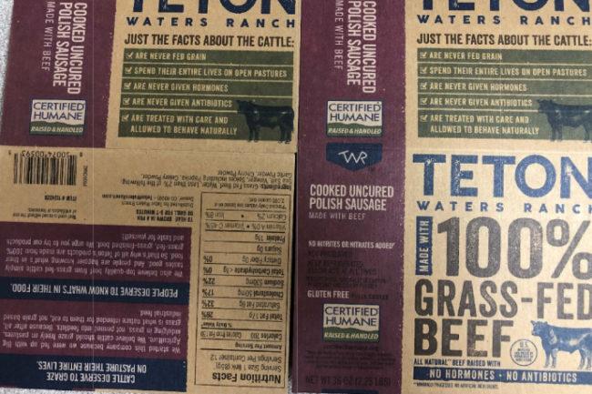USDA Teton waters