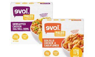 Evol chicken bowls