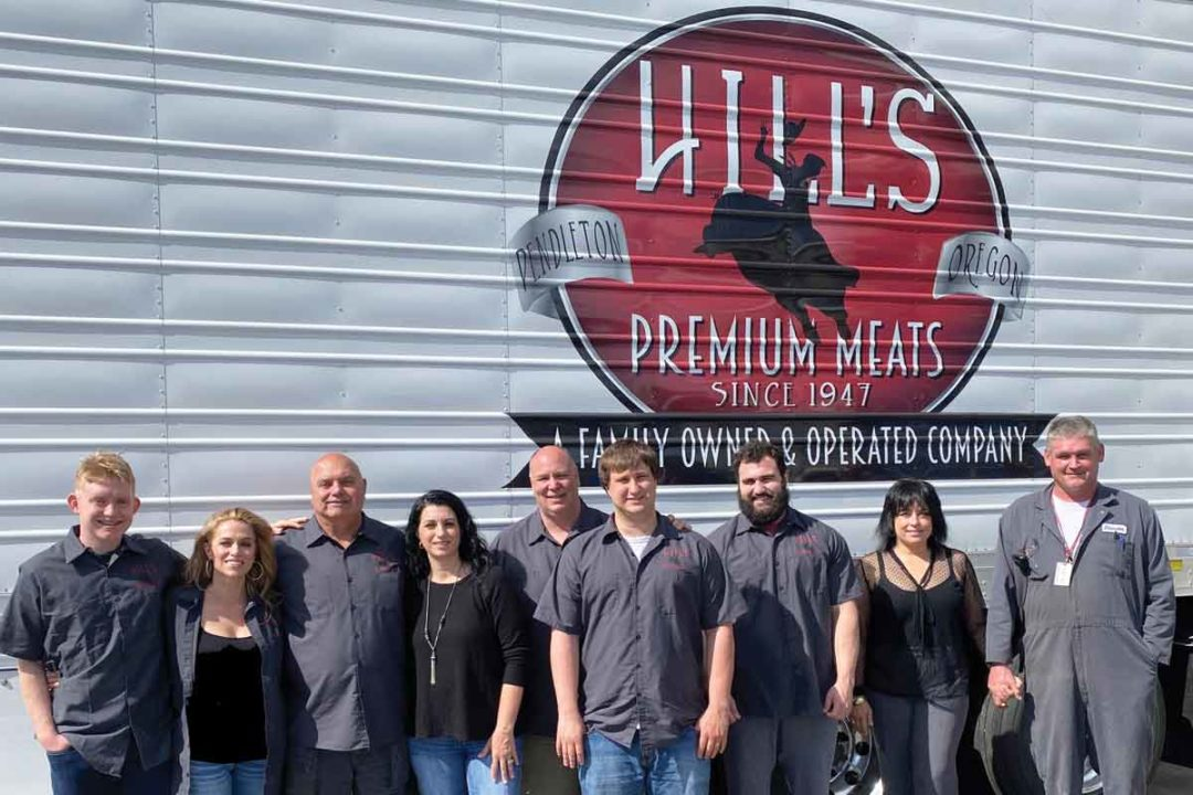 Hill's Meat Co. family photo