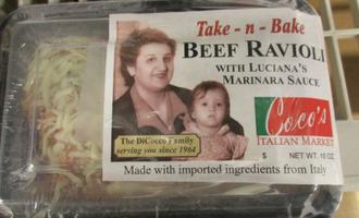 Beef ravioli smallest