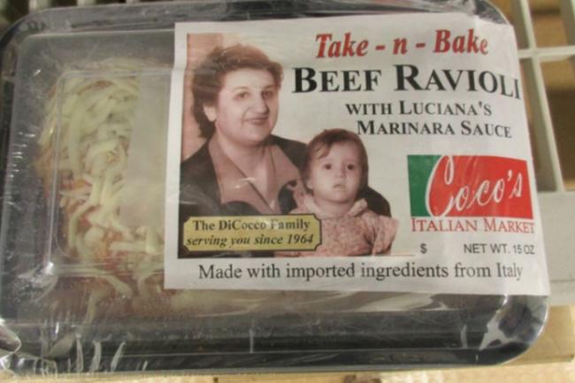 Italian beef ravioli