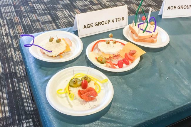 The Kids' Competition at the AAMP Convention provided a showcase for childrens' meat crafting skills.