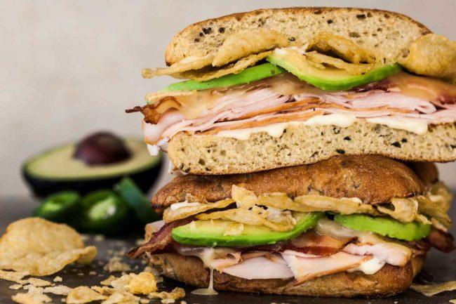 McAllister's deli meat sub sandwich