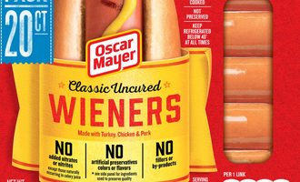 Oscar mayer aug ingredients