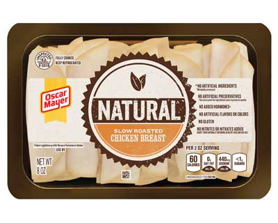 Oscar Mayer brand natural chicken breast meat