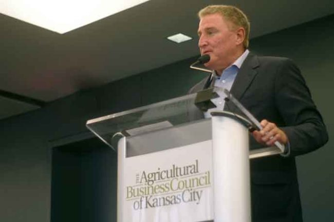 Dan Halstrom, president and CEO of the US Meat Export Federation