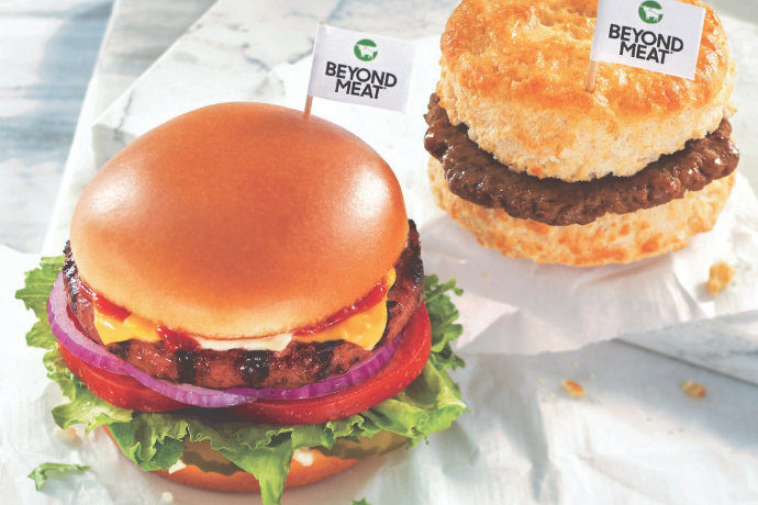 Hardees Beyond Meat