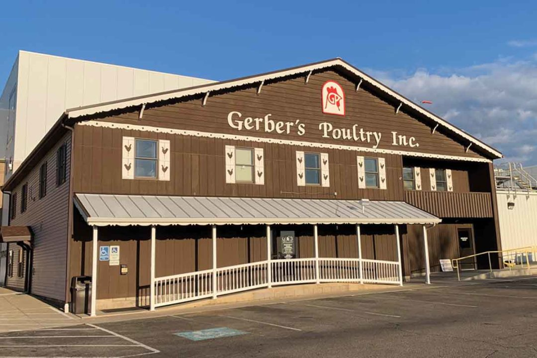 """Gerber Poultry Inc. specializes in production of quality Amish-raised chicken """"worth crowing about.""""."""