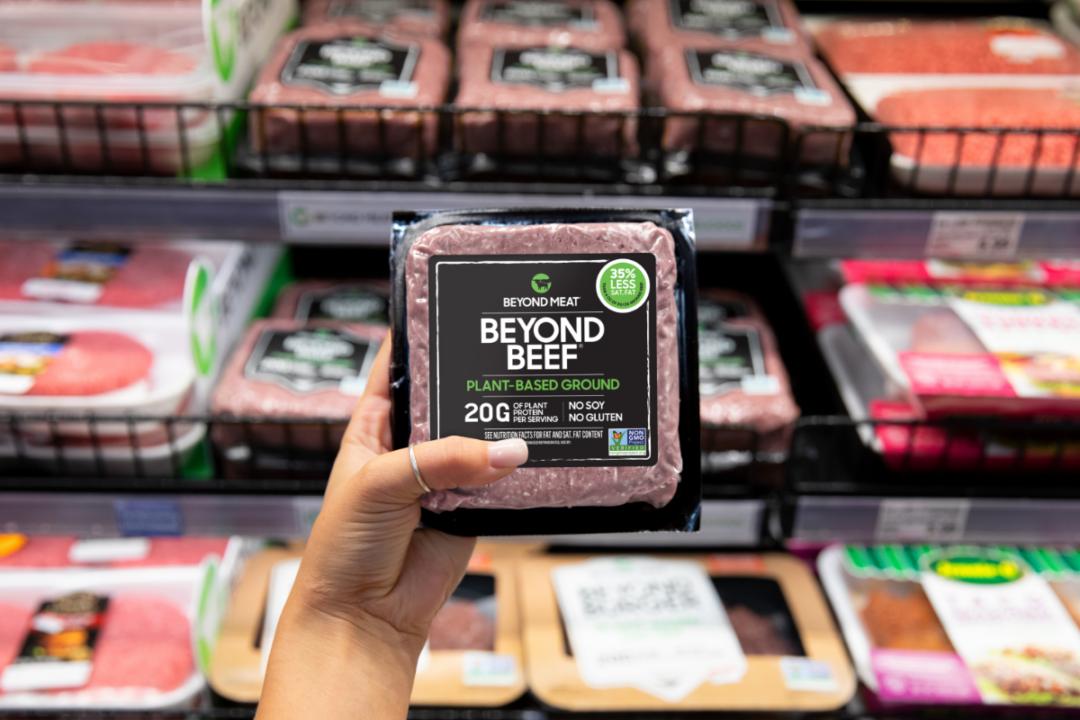 Beyond Meat retail