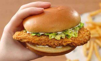 Kfc plant based chicken sandwich