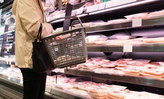 Meat sales smaller