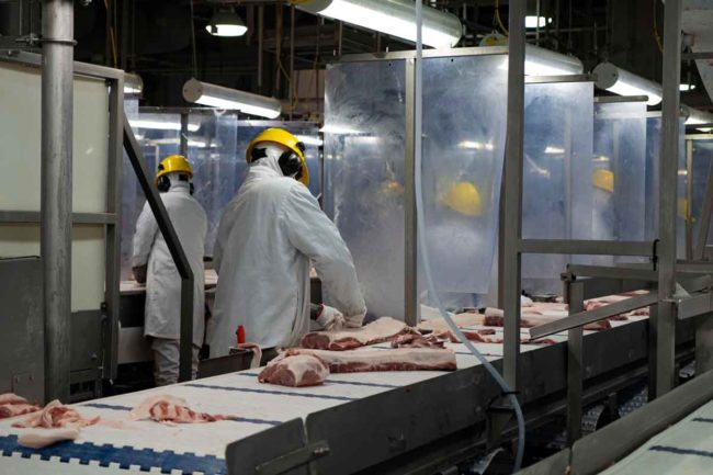 Maple Leaf Foods temporarily suspends exports to China following COVID-19 outbreak at Brandon, Manitoba plant.