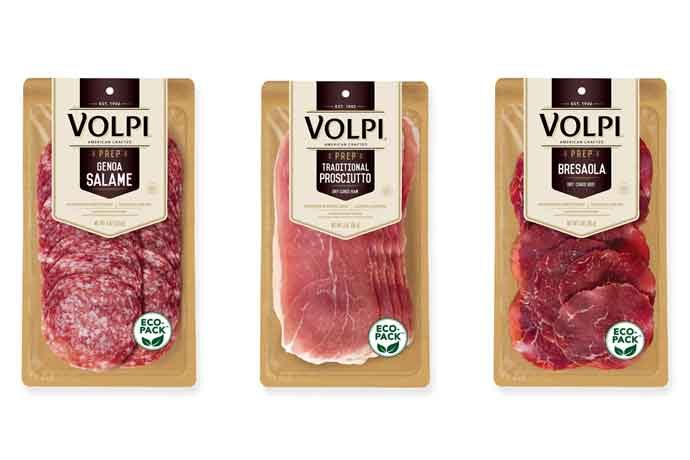 Volpi Foods has shifted to paper-based packaging for all retail Prep packs.