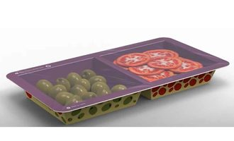 Paperseal snack tray