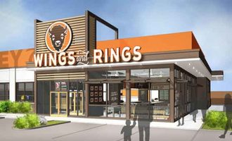 Buffalo wings and rings store