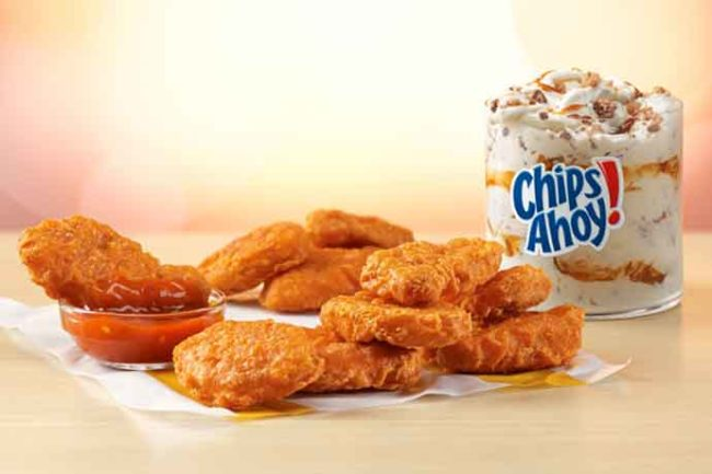 McDonald's to offer spicy Chicken McNuggets in September.