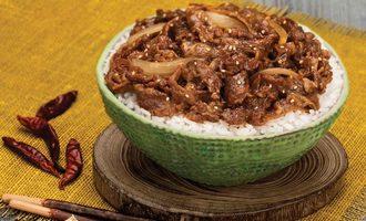 Ingredients grilled beef yoshinoya america